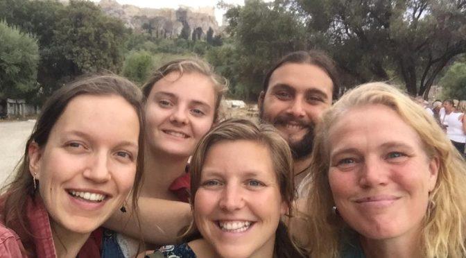 Met de auto naar Griekenland voor agroecologie