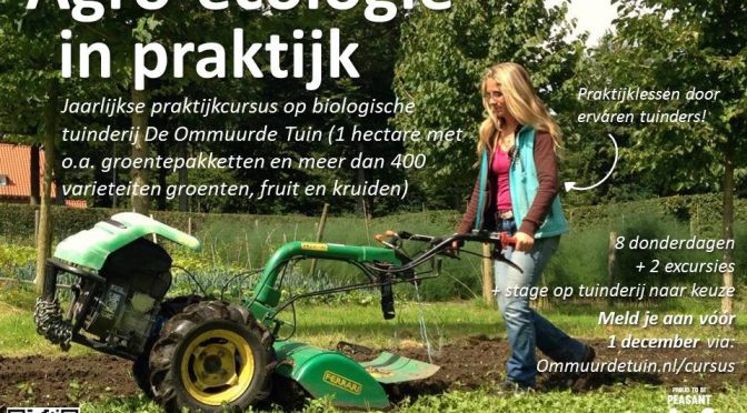 Cursus Agro-ecologie in Praktijk door Ommuurde Tuin